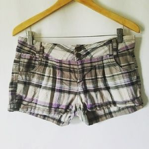 Banana Republic Plaid Shorts